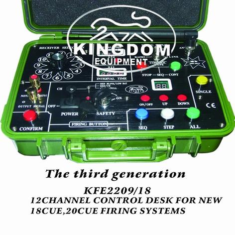 Kingdom Professional Control Desk For 18 & 20Cue Firing ...